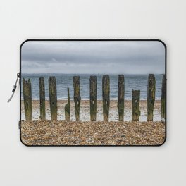 Southsea Seafront - Stumps! Laptop Sleeve