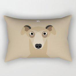Greyhound (Galgo Ingles) Rectangular Pillow
