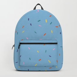 Rainbow Sprinkles- sky Backpack