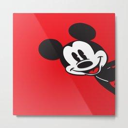 Mickey Mouse No. 9 Metal Print