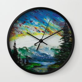 The last day on Earth Wall Clock