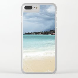 we paddled on Clear iPhone Case