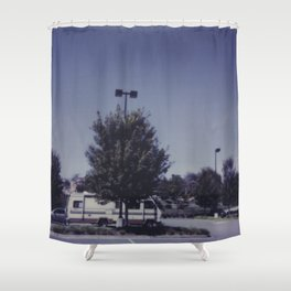 traveling camper Shower Curtain
