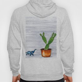 The Cactus & The Happy Elephant Hoody
