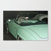 car Canvas Prints featuring Car by Vlad&Lyubov