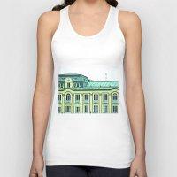 political Tank Tops featuring Political building. by Alejandra Triana Muñoz (Alejandra Sweet