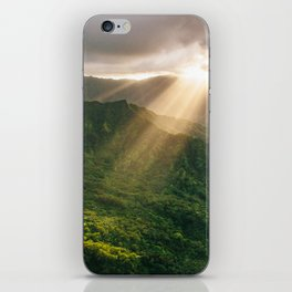 Oahu Afternoon Sunset Rays iPhone Skin