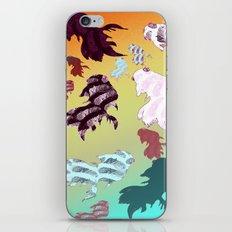Dancing Fishes II iPhone & iPod Skin