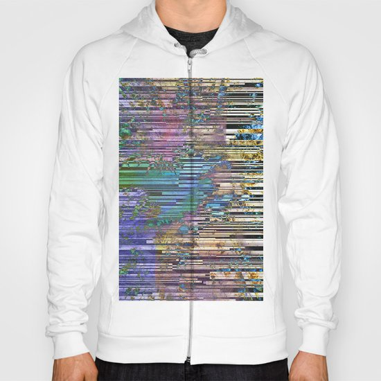 tree barcode stripes Hoody