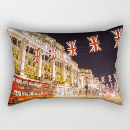 Regent Street London Rectangular Pillow