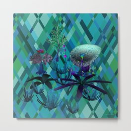 Fantasy Sea Life Metal Print