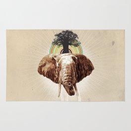 "Glue Network Print Series ""Environment & Animals"" Rug"