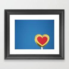 *heart* Framed Art Print