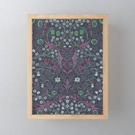 """William Morris """"Blackthorn"""" 3. Framed Mini Art Print"""