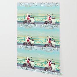 Brighton Union Scooter travel poster, Wallpaper