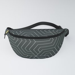 Charleston green - green - Modern Vector Seamless Pattern Fanny Pack