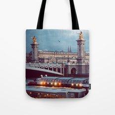 Paris lights. Tote Bag