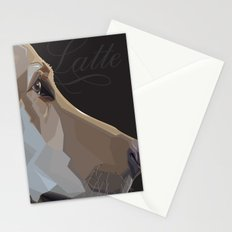 Latte Dog Stationery Cards