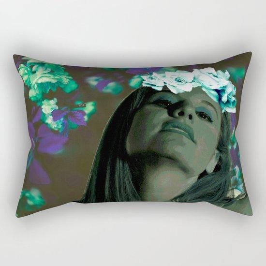 Queen of Spring Rectangular Pillow