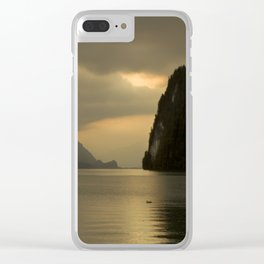 Peaceful Lake Clear iPhone Case