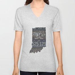Vintage Indiana Unisex V-Neck