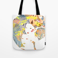 SYNTHESIZE Tote Bag