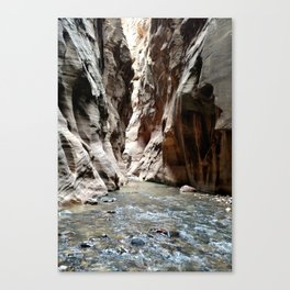 Zion National Park - The Narrows Canvas Print