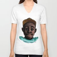 tyler the creator V-neck T-shirts featuring Tyler The Creator by ASHUR Collective™