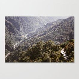 Himayala Hike Canvas Print