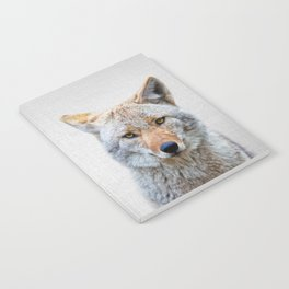 Coyote - Colorful Notebook