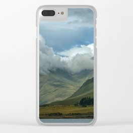 Cloudy afternoon in Connamara Clear iPhone Case