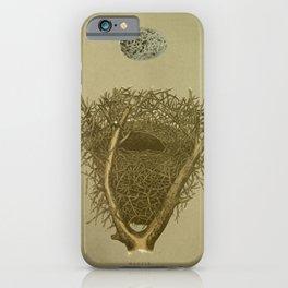 Magpie Nest iPhone Case