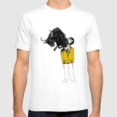 what is likely to happen when one is full of bull Mens Fitted Tee White SMALL