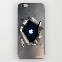 Apple Hole iPhone Skin