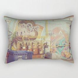 Urban Graffiti Rectangular Pillow