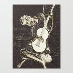 The New Old Guitarist (part 2) Canvas Print