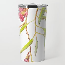 Flowering eucalyptus tree branch Travel Mug