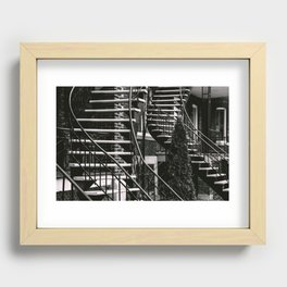 Chutes and Ladders Recessed Framed Print