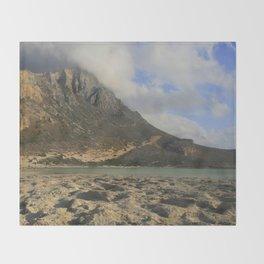 Crete, Greece Throw Blanket