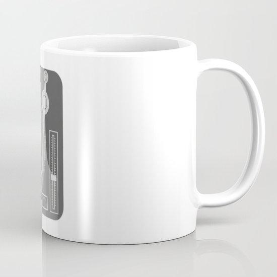 afro deck Mug
