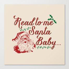 Santa Baby - Vintage Canvas Print