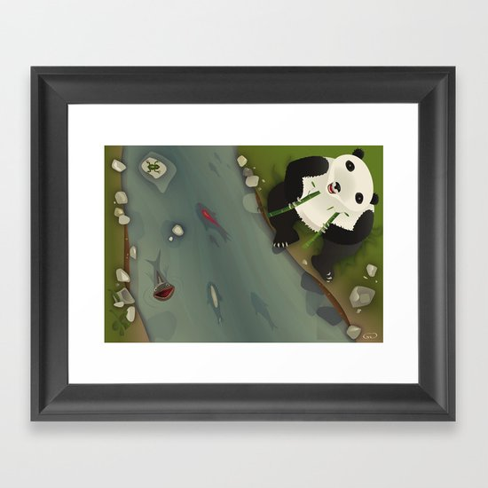 pppanda! Framed Art Print