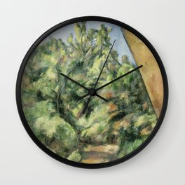 The Red Rock Wall Clock