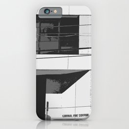 Central Fire Station iPhone Case
