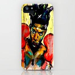 Basquiat iPhone Case