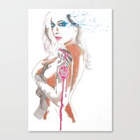 gypsy Canvas Prints featuring Gypsy by Mariano Daniel