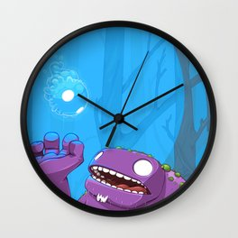 Ghost of Mello Marsh Wall Clock