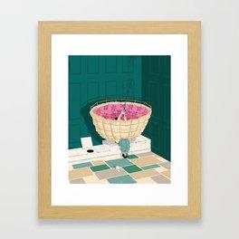 Privy Problems Framed Art Print