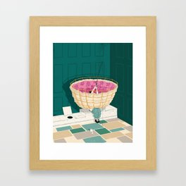Privy Problems Framed Art Print