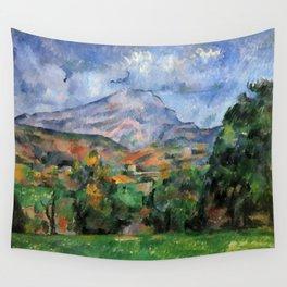 "Paul Cezanne ""Mont Sainte-Victoire"", c.1890 Wall Tapestry"